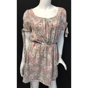 Mercury Duo Floral Sun Short Dress Casual
